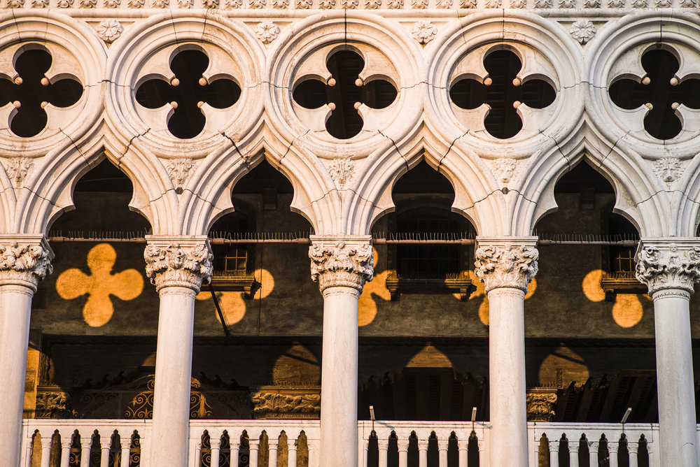 Sunset light on the Doge's Palace