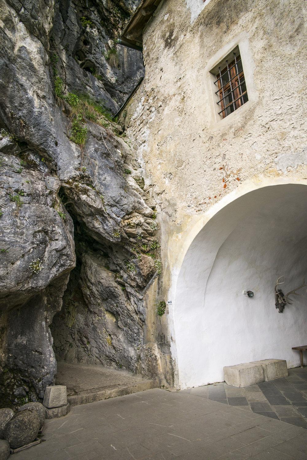 Predjama cave and castle