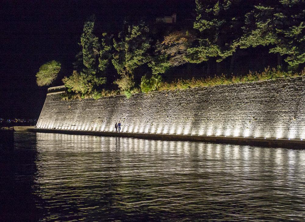Walls at Night