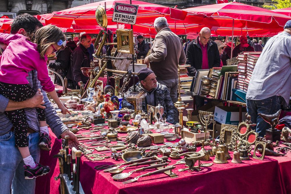 Scene in the Flea Market Hrelić-Jakuševac
