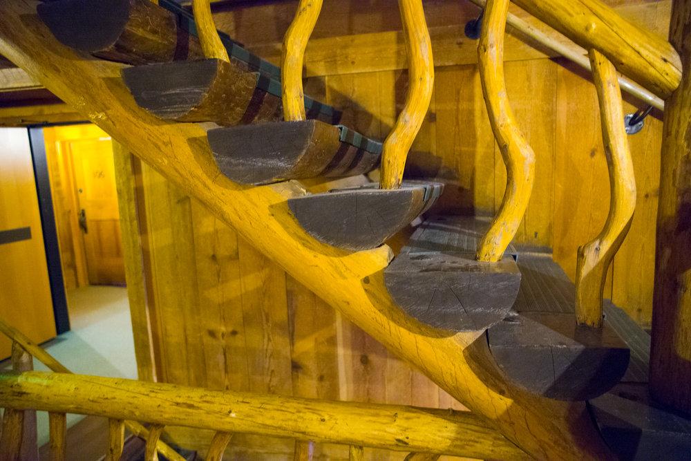 Inside Old Faithful Inn