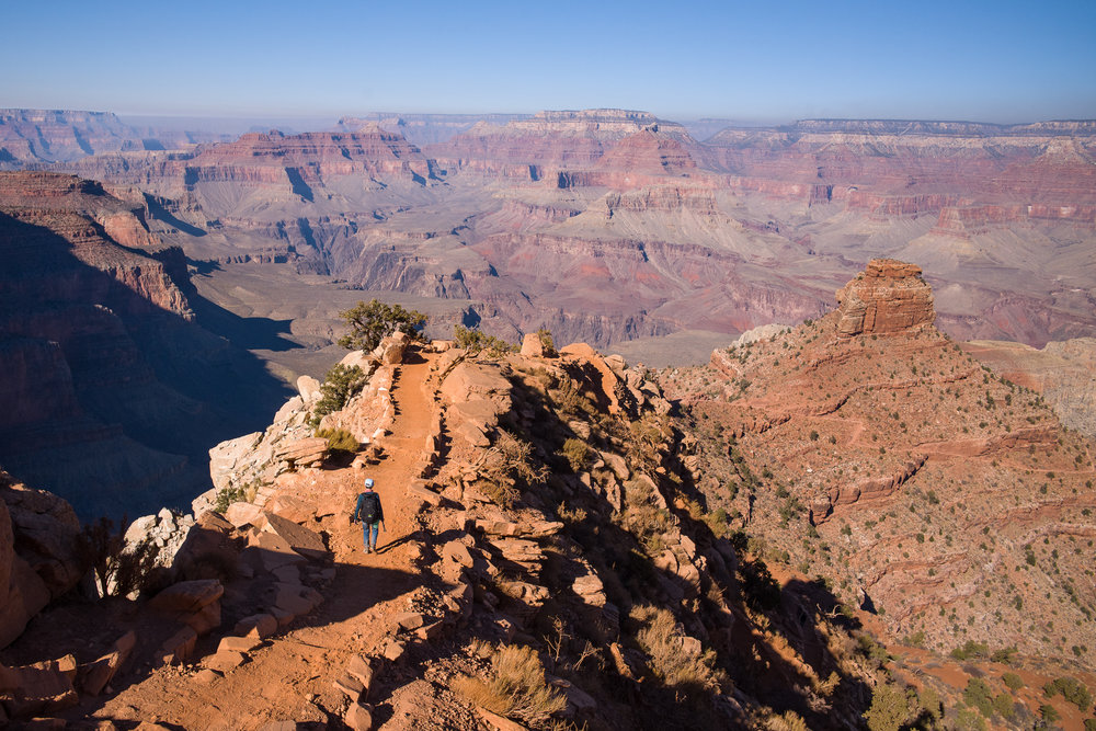 South Kaibab's expansive views along the ridgeline