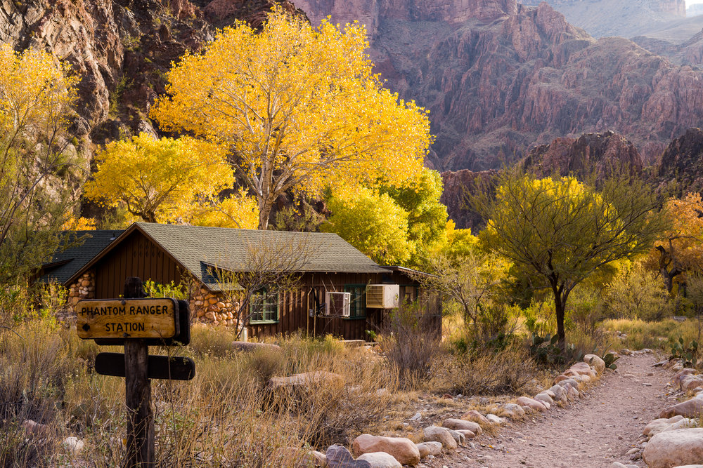 Phantom Ranch ranger station
