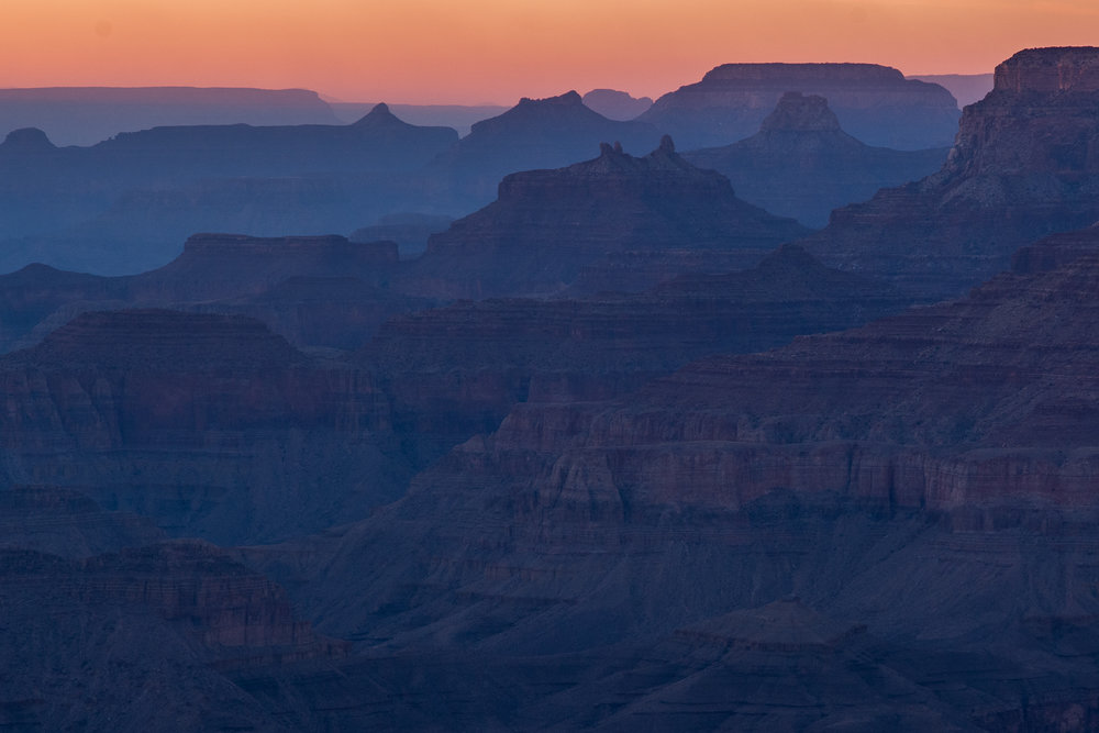 Sunrise at the Rim