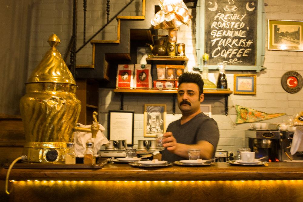 The perfect Turkish coffee in Kädikoy