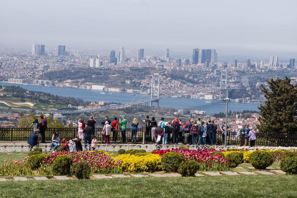 View of Istanbul from Pine Tree Hill