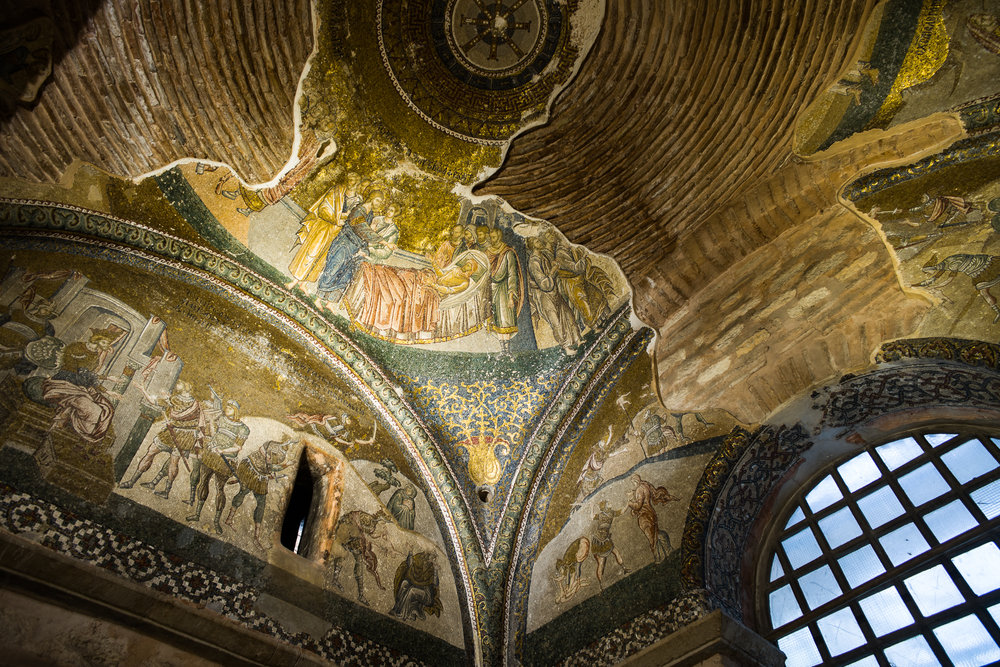 Mosaics in the Chora