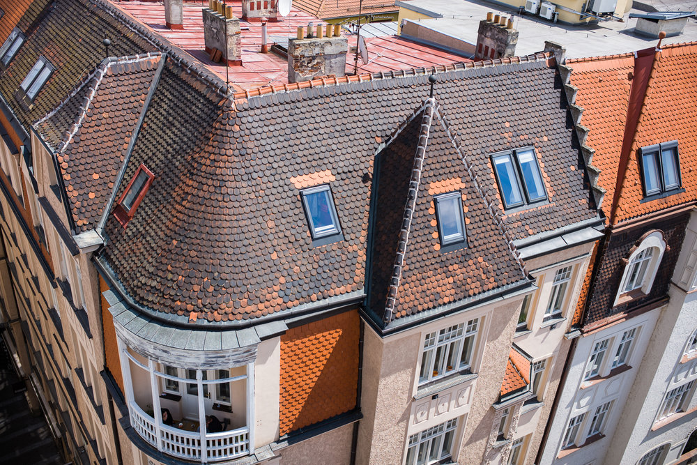 Rooftops of Brno