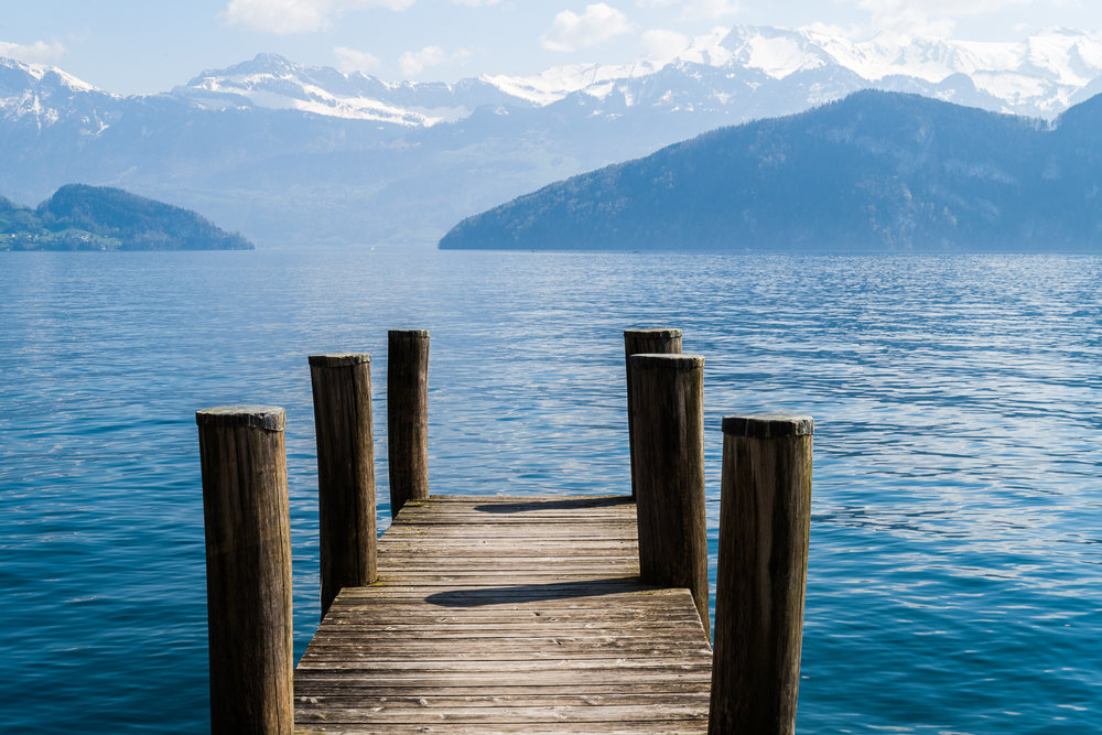 Dock on Lake Lucerne
