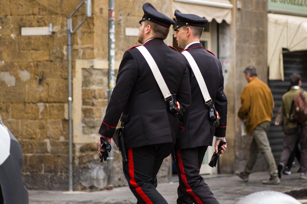 Polizia in Florence
