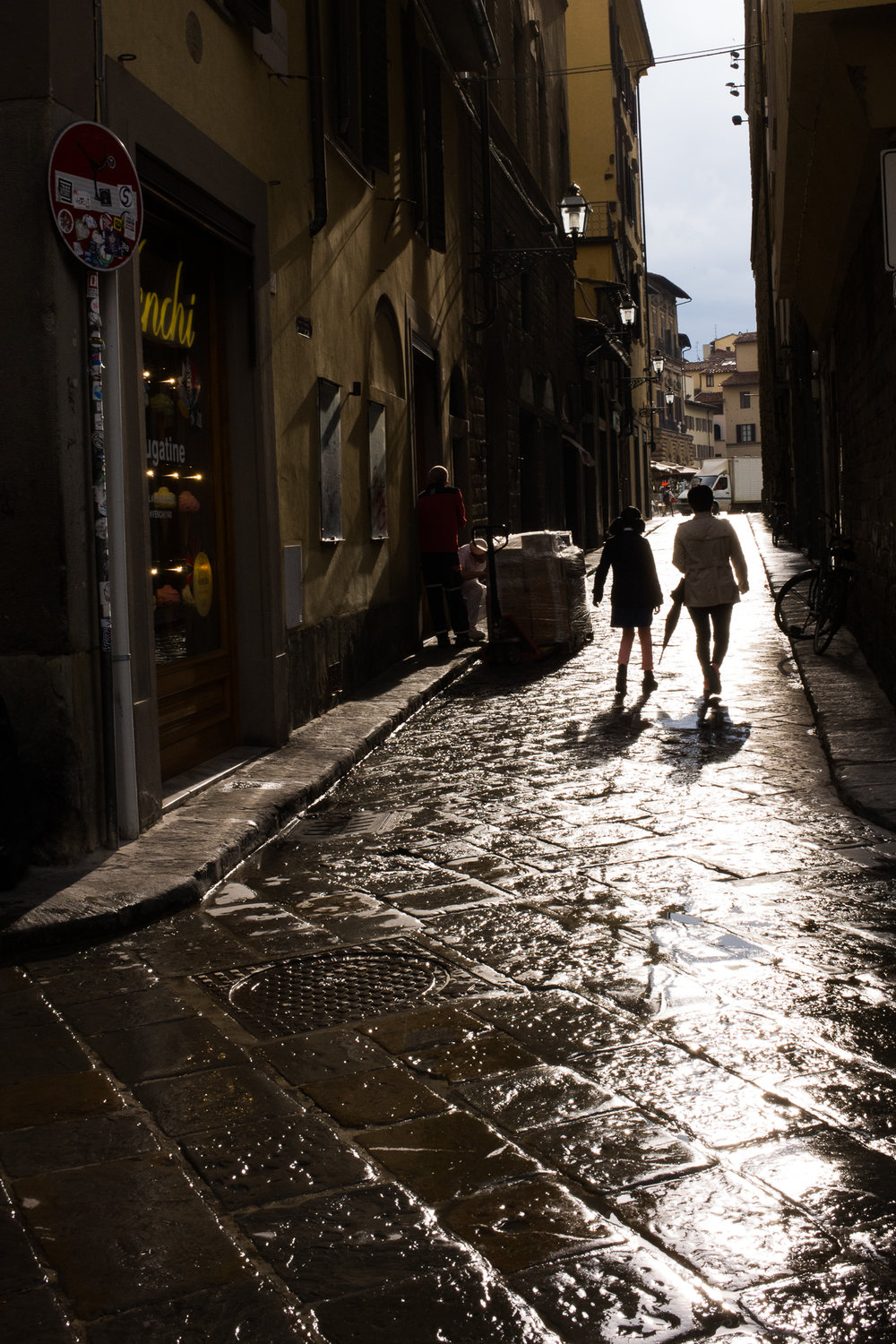 Walking in Florence
