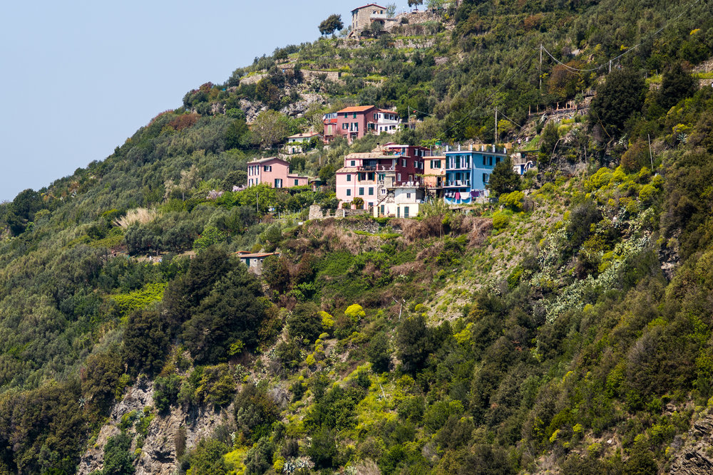 Hiking the trails in the Cinque Terre