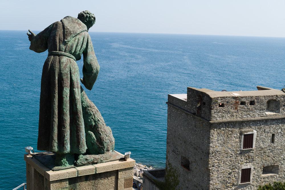 St. Francis above Riomaggiore