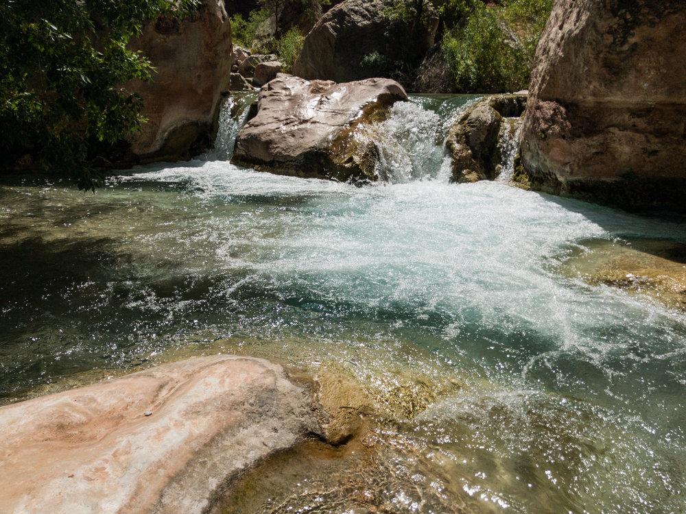 Beautiful Havasu cascade