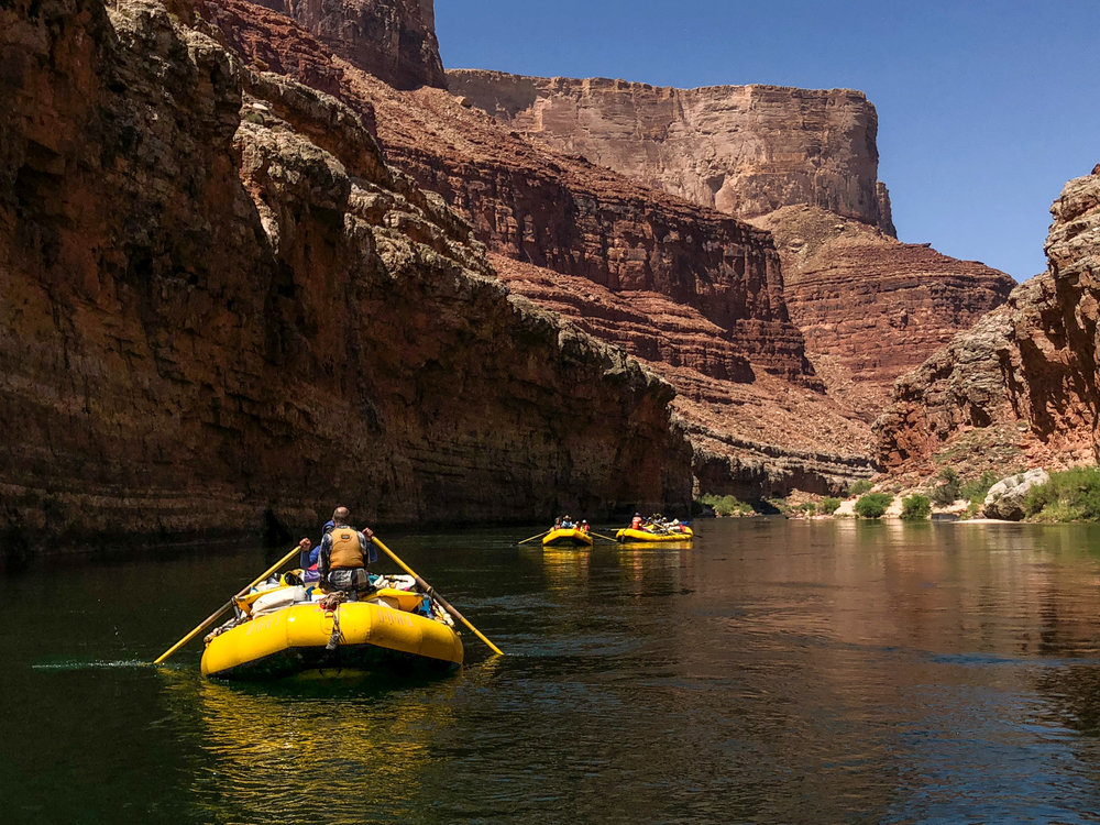 Floatilla in the Grand Canyon