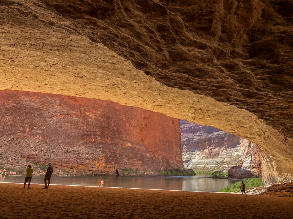 Inside Redwall Cavern