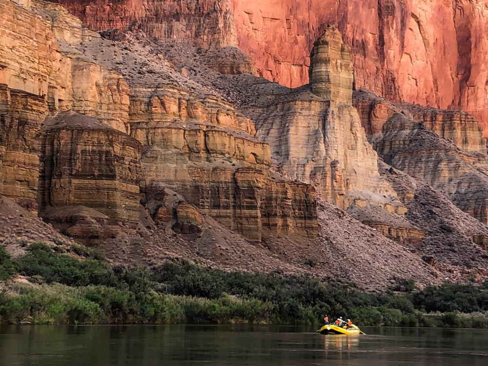 Small Raft, big cliff