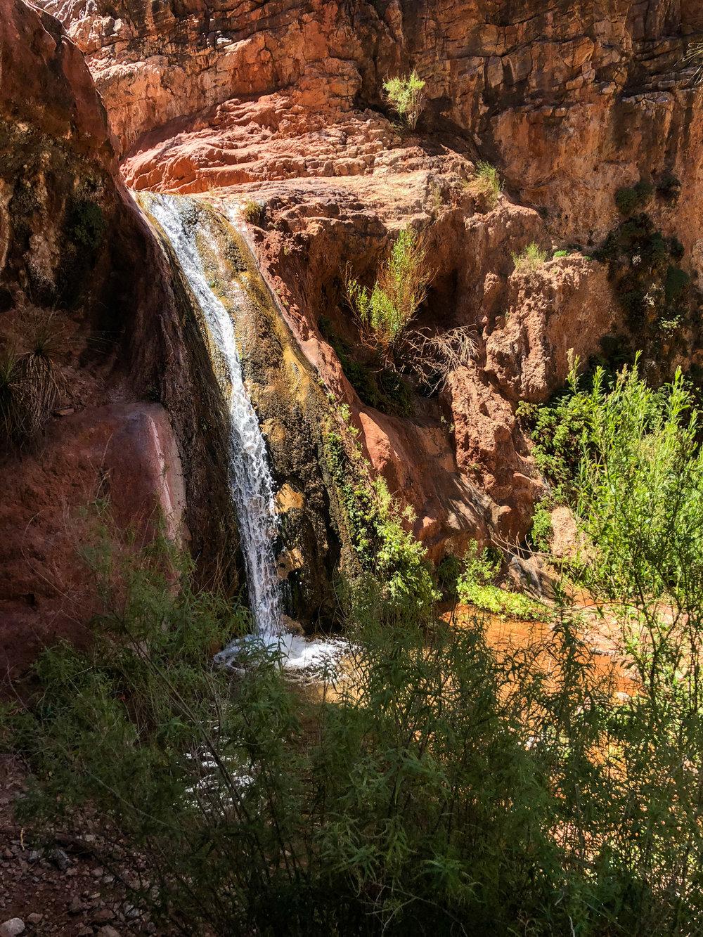 Waterfall on Stone Canyon