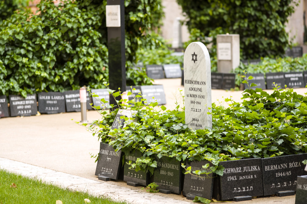 The sacred burial ground at Dohány Street Synagogue