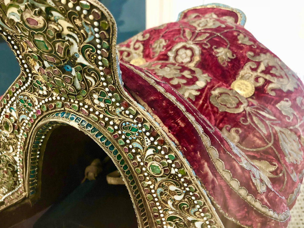 Royal Saddle in the National Museum