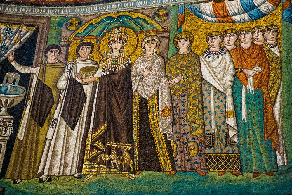The Empress Theodora in San Vitale