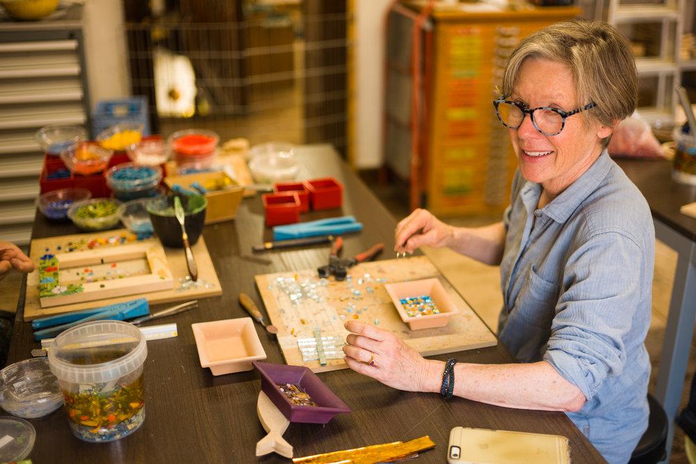The joy of creating Mosaics