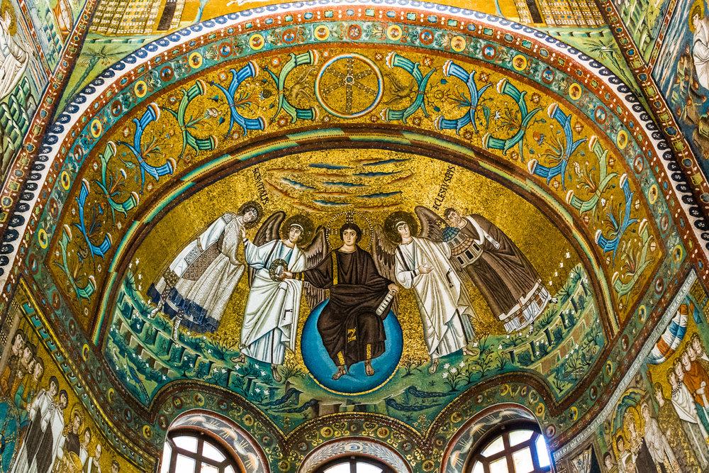 The Mosaics on San Vitale