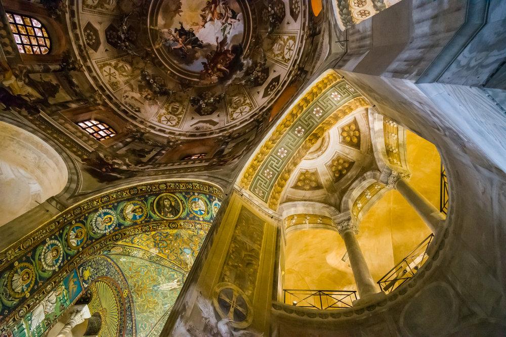 The Ceiling in San Vitale