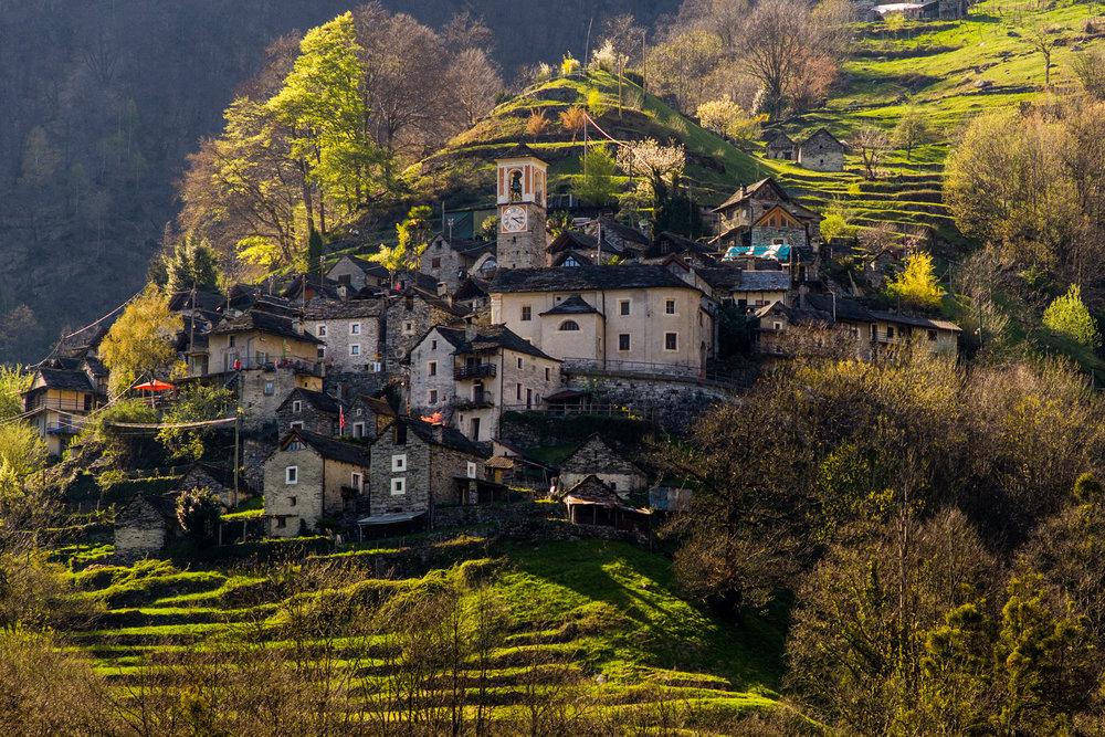 The village of Corippo