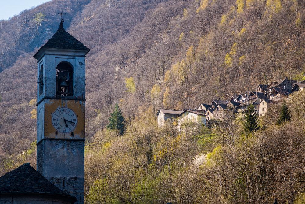 The Village of Lavertezzo