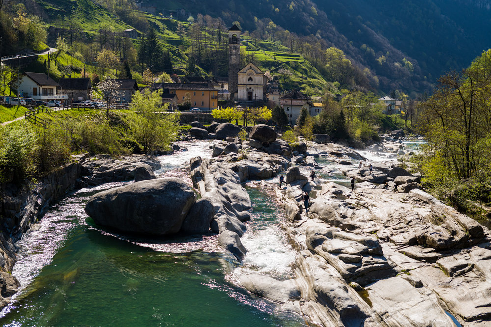 Village of Lavertezzo