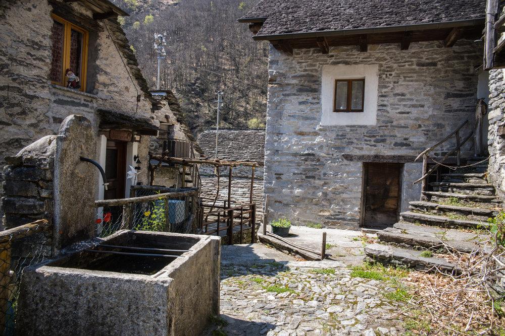 Village of Corippo