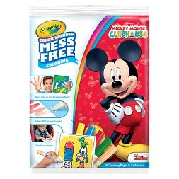 Crayola Color Wonder Coloring Kit- Mickey Mouse Clubhouse