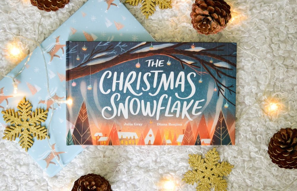 The Christmas Snowflake book by Wonderbly