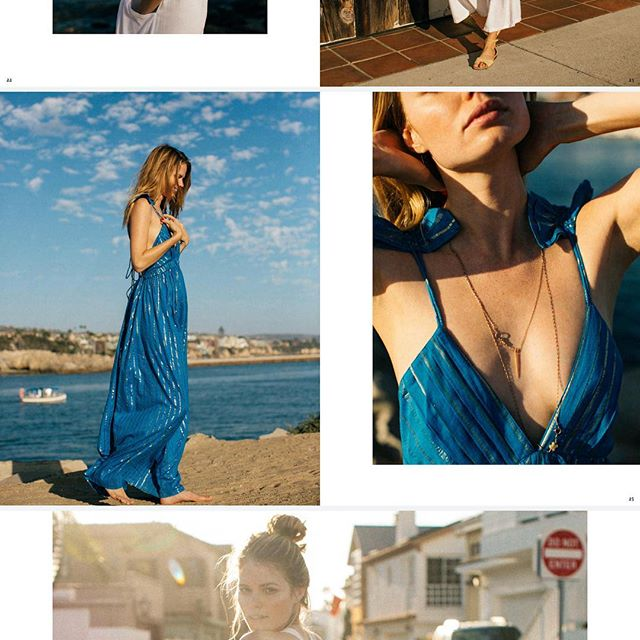 The Spanish Fly maxi from @thevetivercollection now available @Shopbop or www.thevetivercollection.com Imagery from the Spring '18 look book shot by @jenavieve and featuring @genevieverokero