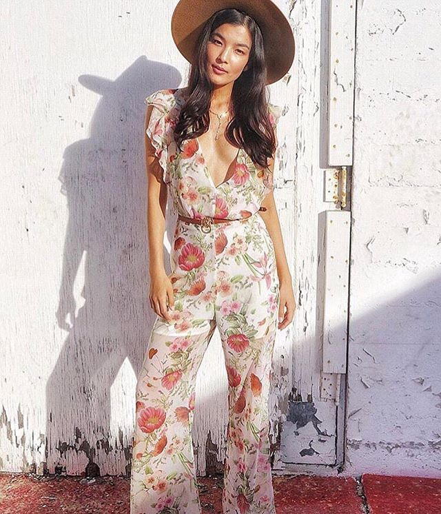 Spring Fling ⭐️ The Field Bouquet jumpsuit from @wearekindred