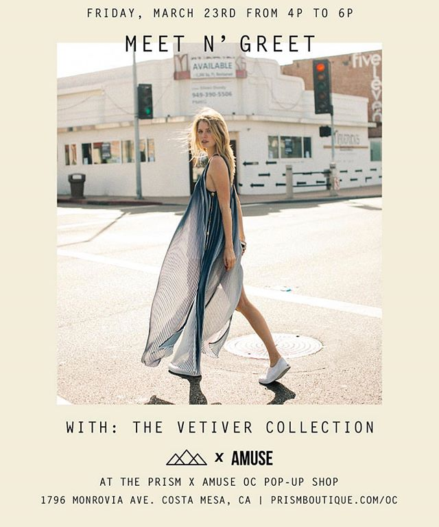 Who is coming! 🙋🏼♀️🙋🏿♀️🙋🏽♀️🙋🏻♀️🙋🏼♀️ tomorrow night we are sipping bubbles and playing dress up with the first ever POP UP for @thevetivercollection with our friends @prismboutique and mark your calendars for a mega sample sale March 31st with a special guest and all your favorite brands. 🍾🍾🍾