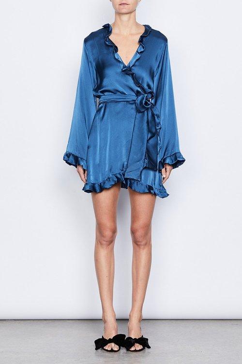 993c34af1cd508 Naomi Silk Wrap Dress ...