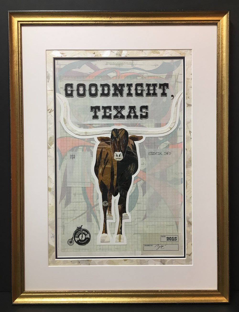 Goodnight, Texas Tour Poster
