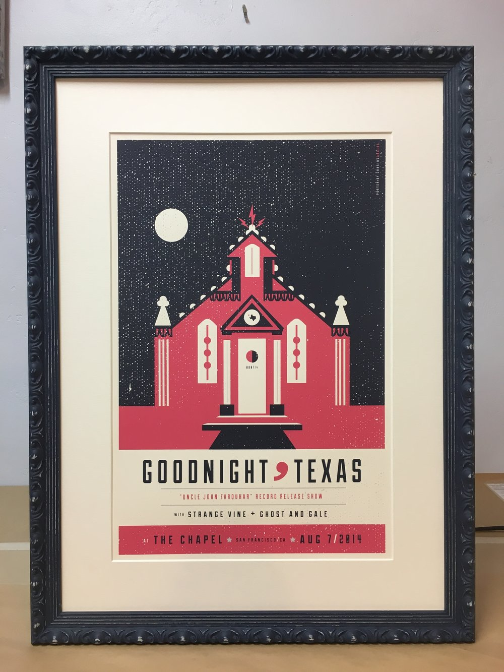 Goodnight, Texas Concert Poster