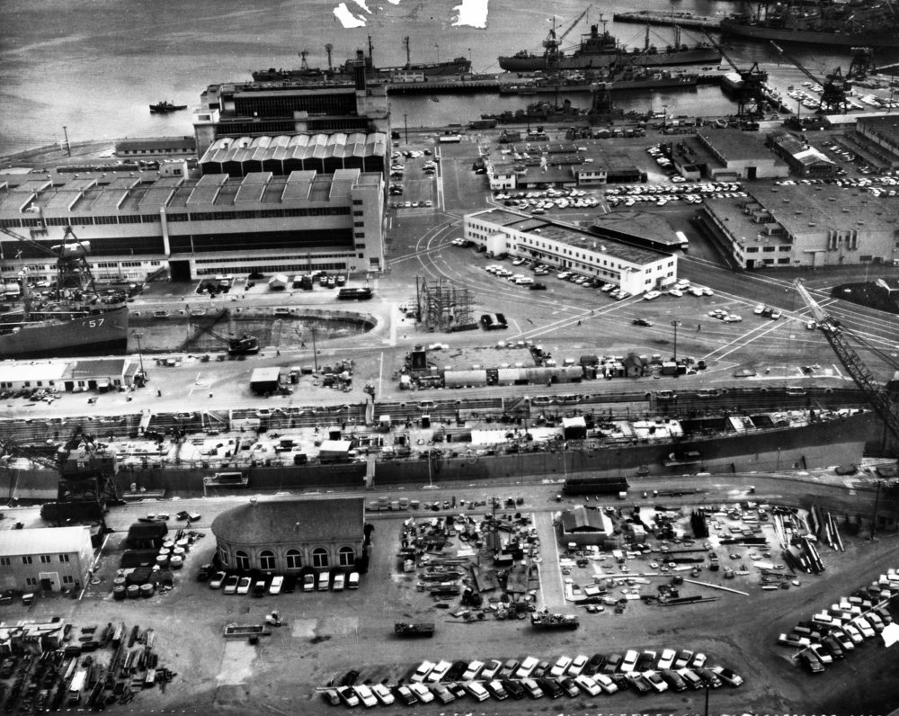 Hunters Point Shipyard (photo date unknown)