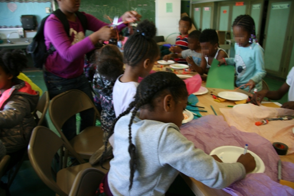 Art class at the Malcolm X Academy Photo credit: Brian Moore
