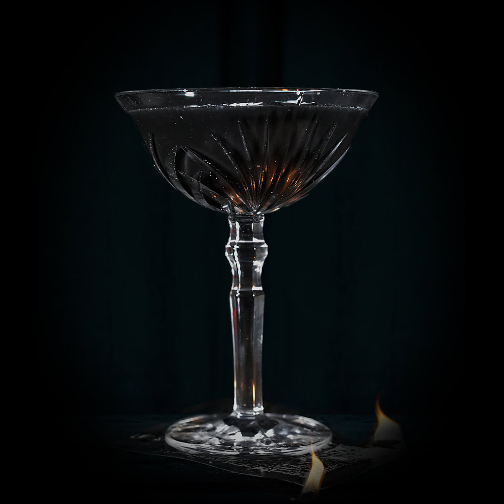 DAIQUIRI NOIR  INGREDIENTS  - 2 oz. Jalapeño infused El Silencio Espadin w/Activated Charcoal - .75 oz. Agave Nectar - 1 oz. Fresh Lime Juice  METHOD  Shake w/Ice and strain Cocktail Glass