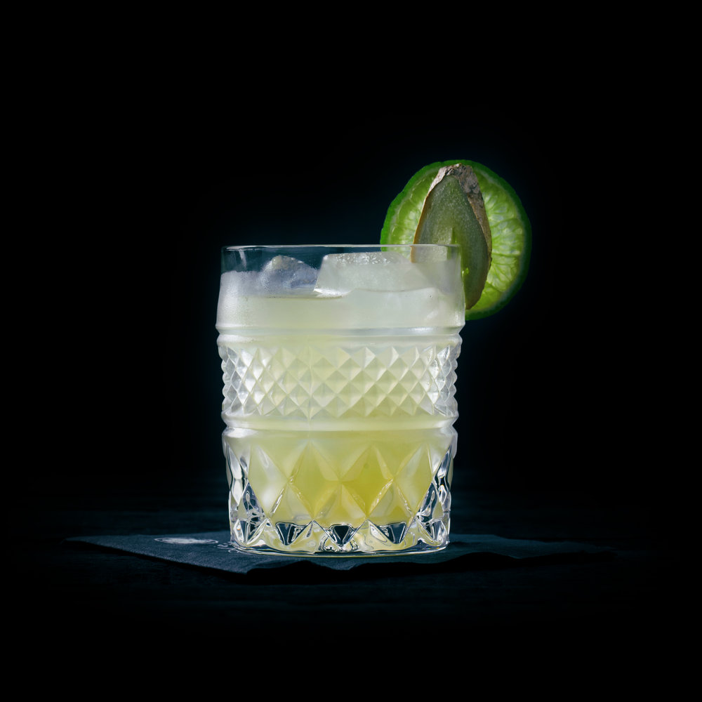 GINGER ME SOFTLY  INGREDIENTS  - 1.5 oz. El Silencio Espadin - 1 oz. Fresh Lime Juice - 1/2 Cucumber - Fresh Ginger  METHOD  Muddle cucumber and Ginger - Add additional ingredients Shake with ice & strain Garnish: Lime Wheel & Ginger