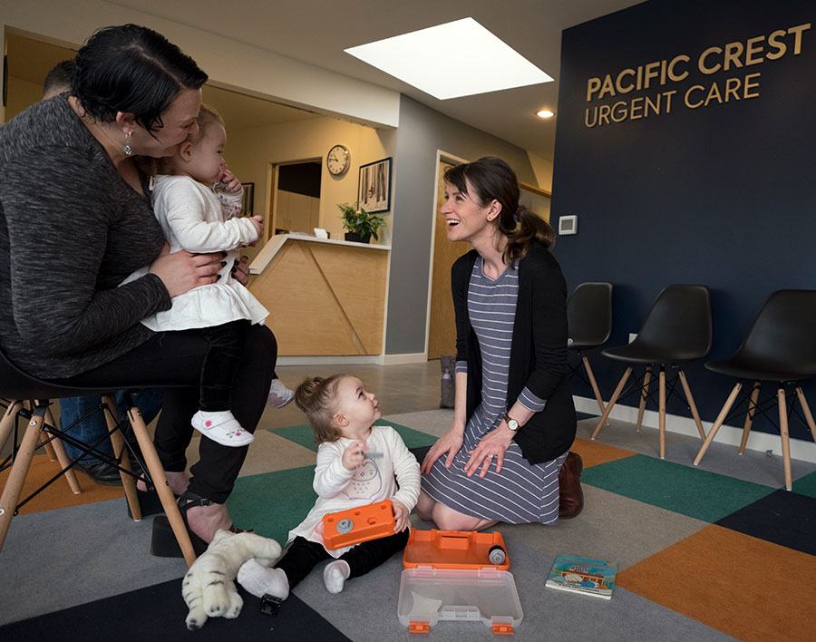 Convenient Care, When You Need It - Same day, evening, and weekend medical care for your child is getting harder and harder to come by. Illnesses and injuries don't always strike when it's convenient, which is why we created an after hours children's clinic that delivers expert urgent paediatric care at pocket-friendly prices.Accidents happen, but with our range of affordable services that come in at a fraction of the cost of an emergency room, you can leave your worries at the door, and enjoy our bright, welcoming office as our cheery pediatricians take care of your child. We like walk-ins.Find us on Google Maps