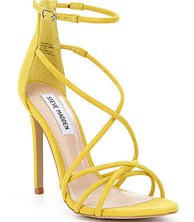 Steve Madden Strapped Strappy Ankle Strap Dress Sandals $99