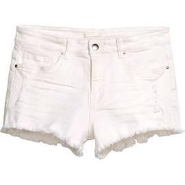 H&M Distressed Denim Shorts $19.99