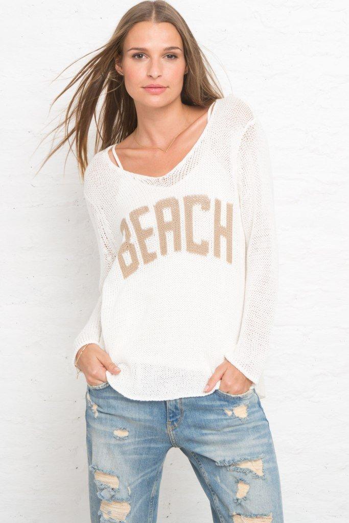 Beach V Neck $108
