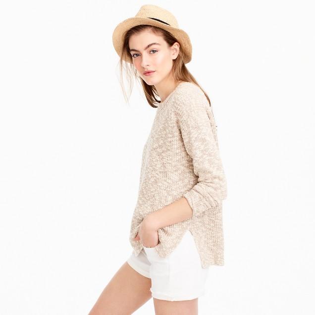 Jcrew Oversized Marled Sweater $69.99