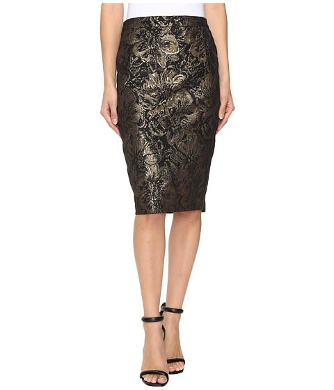 Calvin Klein Metallic Rose Pencil Skirt $62.99